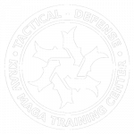 Tactical Defense embleem wit